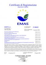 Certificato N IT 000425 EMAS